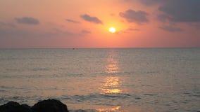 Piękny Spokojny morze Przy wschodem słońca zbiory