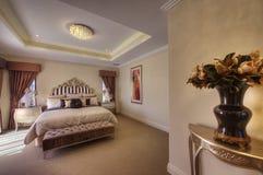 Piękny Starego Światu Sypialni Apartament Zdjęcia Stock