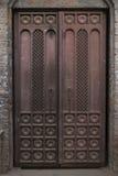 Piękny Stary żelazny drzwi, bramy Obrazy Royalty Free