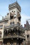 Piękny stary budynek w Lvov obrazy stock