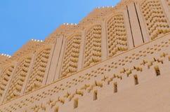 Piękny stary gliniany budynek dzwonił kasbah w pustyni Maroko, afryka pólnocna Zdjęcia Stock