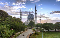 Piękny sułtanu Salahuddin Abdul Aziz Shah meczet Obrazy Stock
