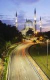 Piękny sułtanu Salahuddin Abdul Aziz Shah meczet Obraz Stock
