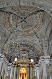 Piękny sufit święty San Agustin kościół Fotografia Royalty Free