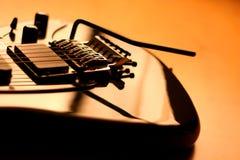 piękny szczegół gitary elektrycznej serii Obrazy Royalty Free