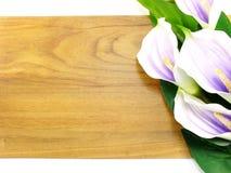Piękny sztucznego kwiatu bukieta kopii przestrzeni granicy tło Fotografia Stock