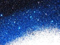 Piękny tło błękita i czerni błyskotliwość błyska na bielu obrazy stock