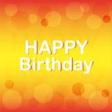 Piękny tło dla urodziny Obraz Stock