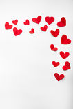 Piękny tło dla valentine dnia Zdjęcia Royalty Free