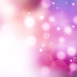 Piękny tło z defocused światłami Zdjęcie Royalty Free