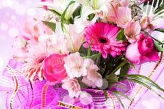 Piękny tło z kwiatami fotografia royalty free