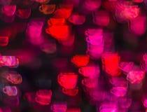 Piękny tło z różną barwioną filiżanką kawy, abstr Zdjęcia Stock