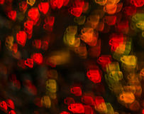 Piękny tło z różną barwioną filiżanką kawy, abstr Zdjęcia Royalty Free