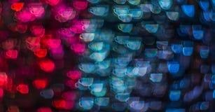 Piękny tło z różną barwioną filiżanką kawy, abstr Fotografia Stock