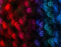 Piękny tło z różnym barwionym symbolu euro, abstrac Zdjęcia Royalty Free