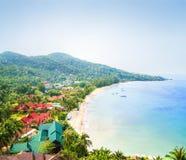 Piękny Tajlandzki natury tło zdjęcie stock