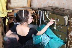 Piękny tancerz zdjęcie royalty free