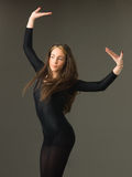 Piękny tancerz obraz royalty free