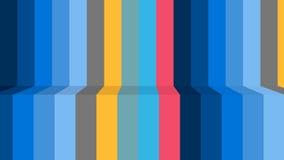 Piękny tapetowy sztandar z, Abstrakcjonistyczny projekt, zespoły, linie, błękitni colours, ilustracja wektor