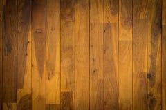 Piękny tekowy drewniany tło Zdjęcie Stock