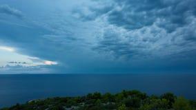 Piękny timelapse wideo Dalmatia, Chorwacja, Europa zbiory