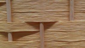 Piękny tkactwo Światło barwiący Tło eco tekstura drewna Zdjęcie Stock