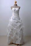 piękny togi ślubu biel Obrazy Royalty Free