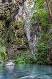 Piękny Tolantongo jaskiniowy Grutas Tolantongo, Meksyk obraz stock