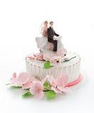 piękny tortowy ślub Zdjęcia Stock