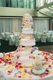 piękny tortowy ślub obrazy stock