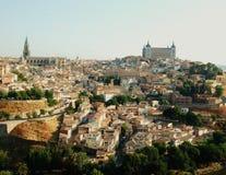Piękny townscape zdjęcia royalty free