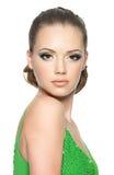 piękny twarzy dziewczyny nastolatek Obrazy Royalty Free