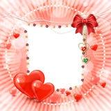 Piękny valentines dnia sztandar Zdjęcie Stock