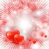 Piękny valentines dnia tło Zdjęcie Royalty Free