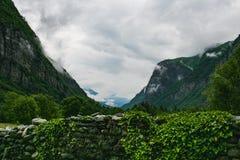 Piękny Valle maggia natury krajobraz Switzerland obrazy royalty free