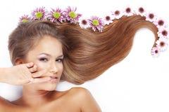 piękny włosy Obrazy Royalty Free