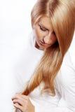 piękny włosy Zdjęcie Royalty Free