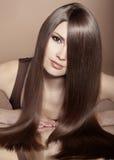 Piękny włosy fotografia royalty free