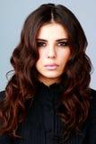 piękny włosy tęsk kobieta zdjęcia royalty free