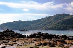 Piękny wakacje letni w Yanui plaży fotografia royalty free