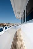 piękny wewnętrzny jacht Obrazy Stock