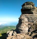 Piękny widok górski obrazy stock