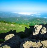 Piękny widok górski zdjęcie royalty free