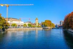 Piękny widok historyczny centrum miasta na słonecznym dniu obraz royalty free