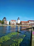 Piękny widok Kaliningrad Rosja fotografia royalty free