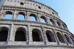 Piękny widok kolosseum, Włochy Obraz Royalty Free