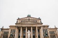 Piękny widok Koncertowy dom w Berlin fotografia stock