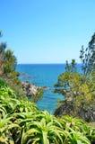 Piękny widok morze, wakacje letni pojęcie Obrazy Royalty Free
