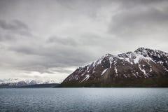 Piękny widok północny Norwegia Biegunowy okrąg obrazy stock