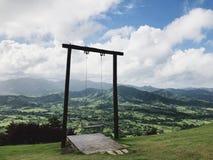 Piękny widok przy huśtawką na Redonda górze zdjęcia royalty free
